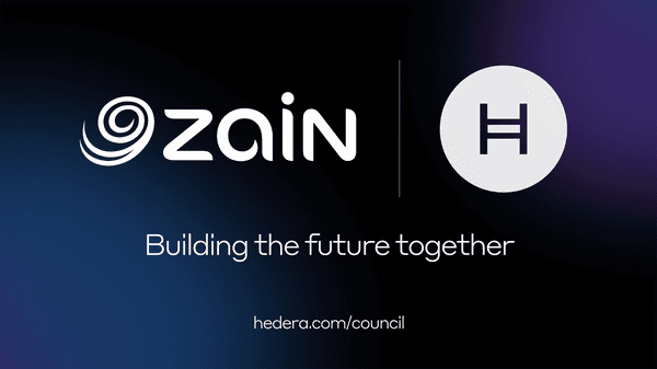 A Mena Region First Zain Group Joins Hedera Governing Council To Create A Safer Fairer More Secure Internet