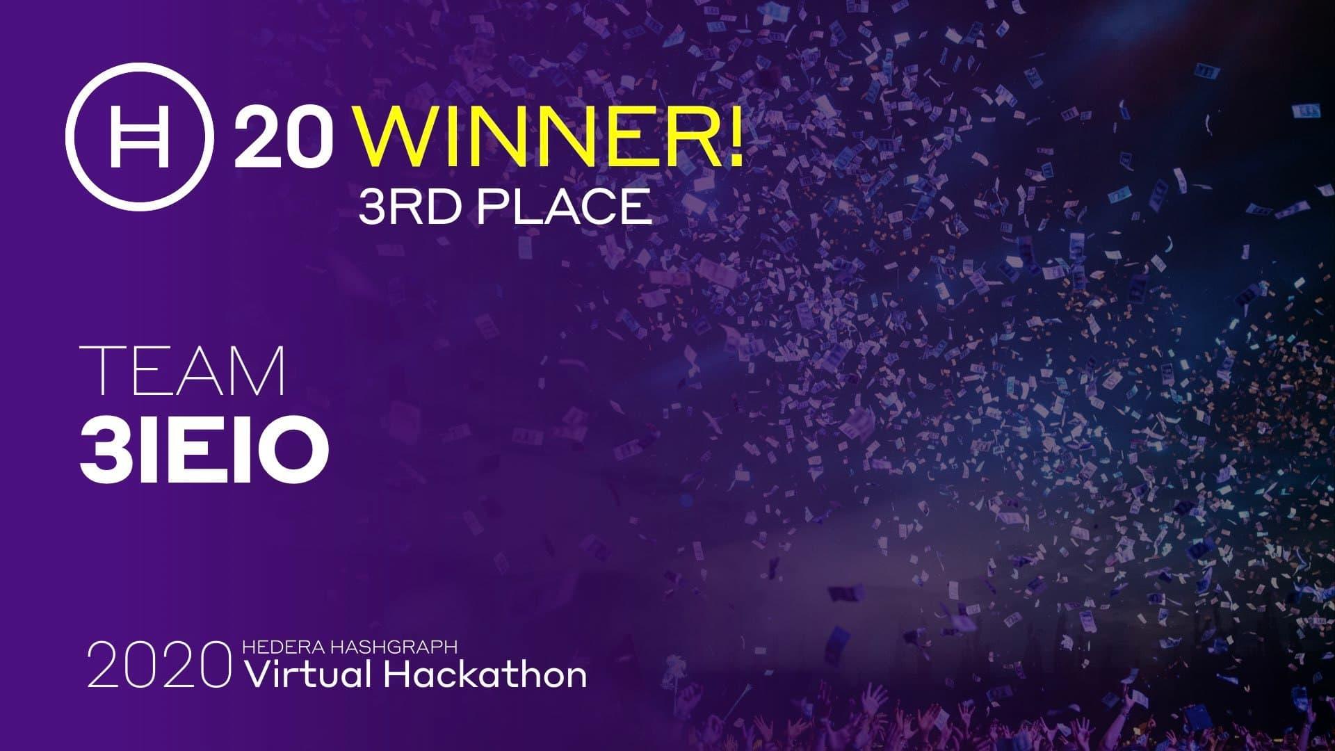 H20 Winners 3 Ieio
