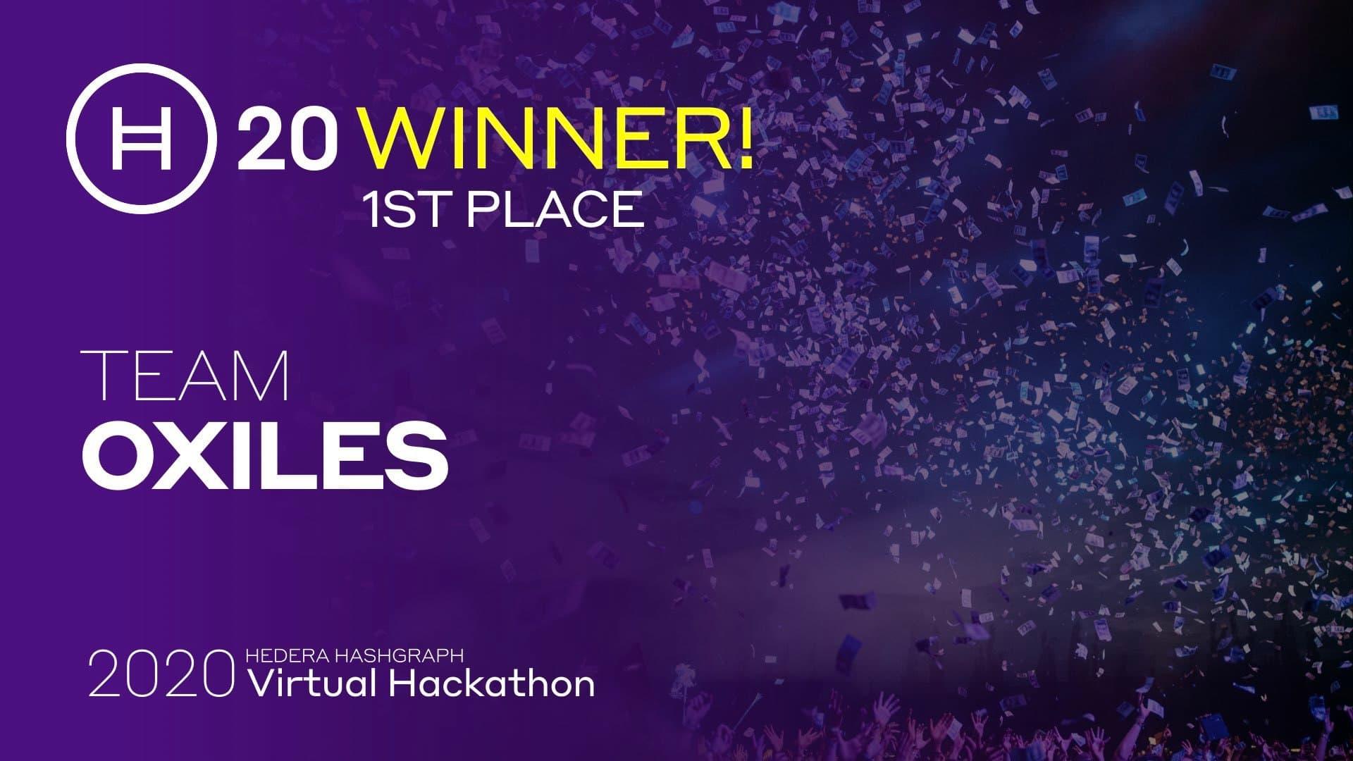 H20 Winners Oxiles
