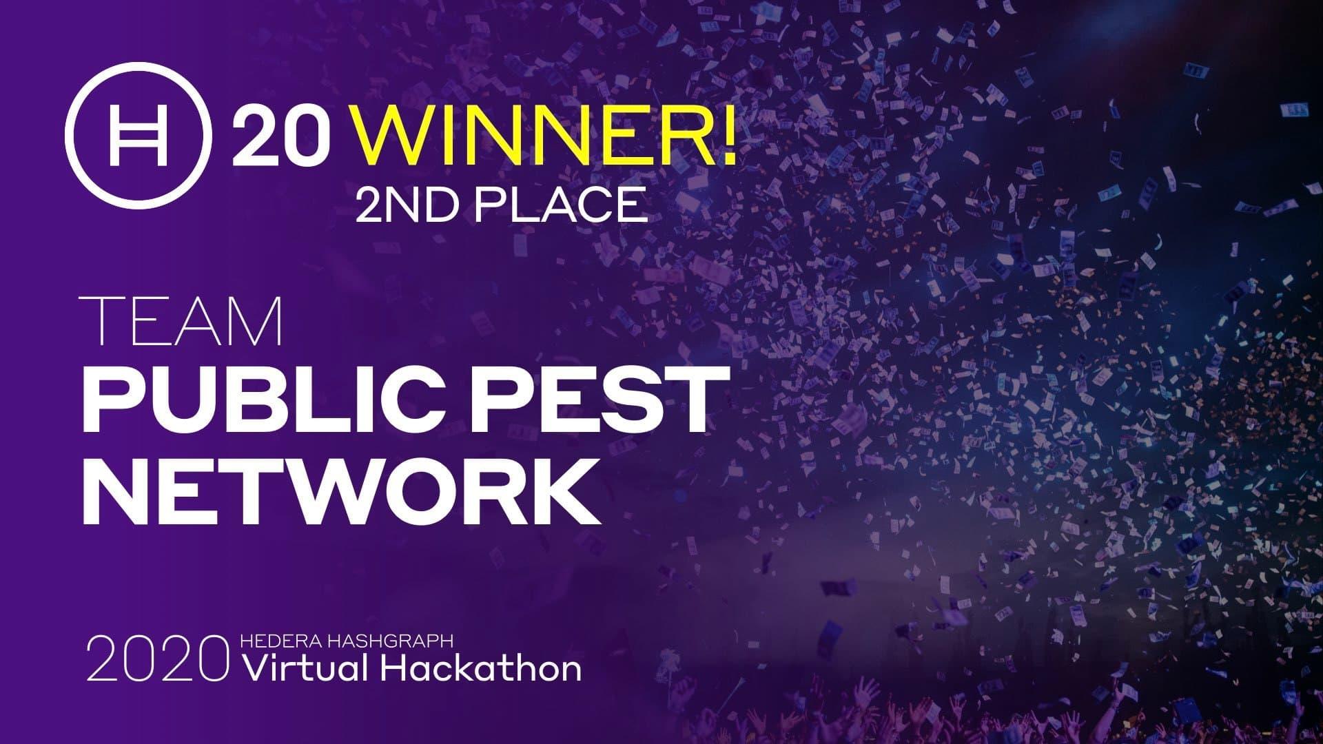 H20 Winners Public Pest Network