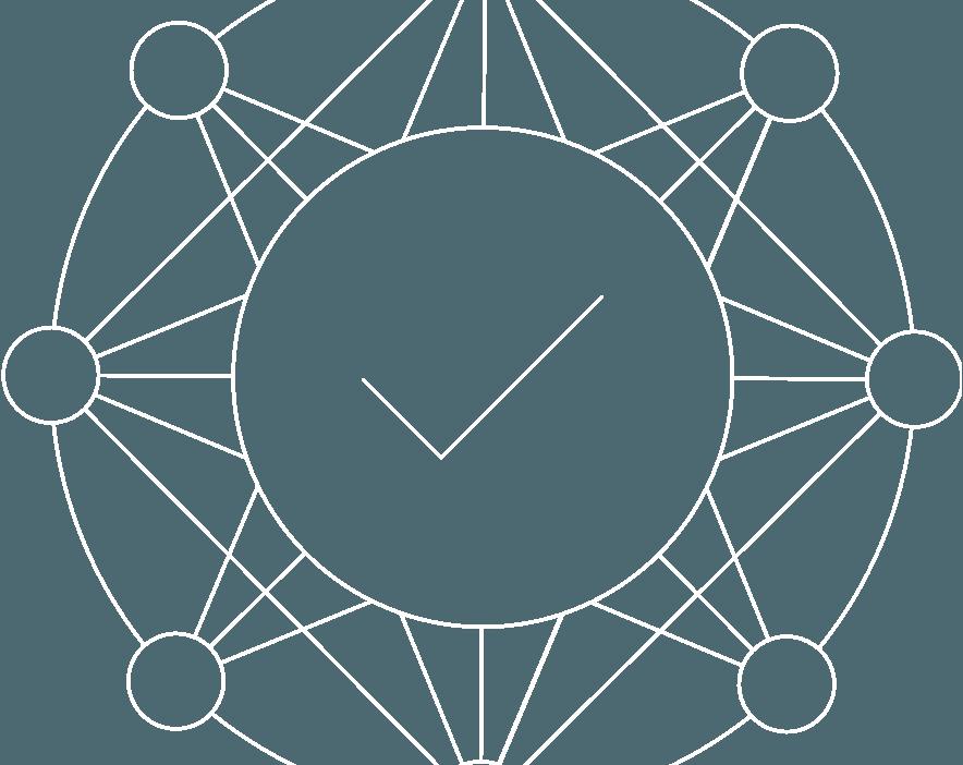 HH Network Nodes Icon Consensus