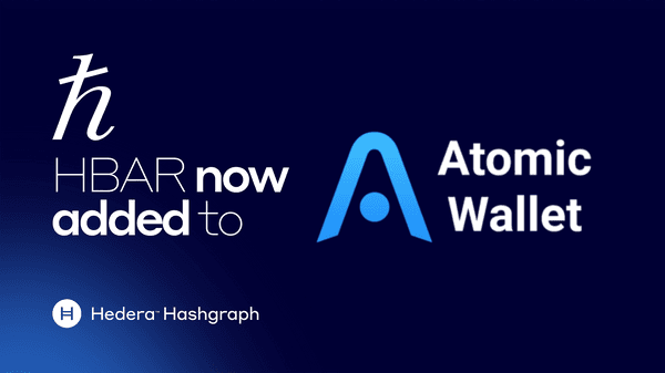 Hedera Hashgraph'S Hbar Coin Added To Atomic Wallet