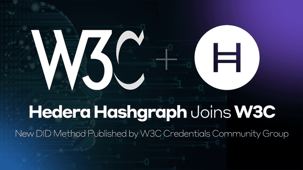 Hedera Hashgraph Joins World Wide Web Consortium