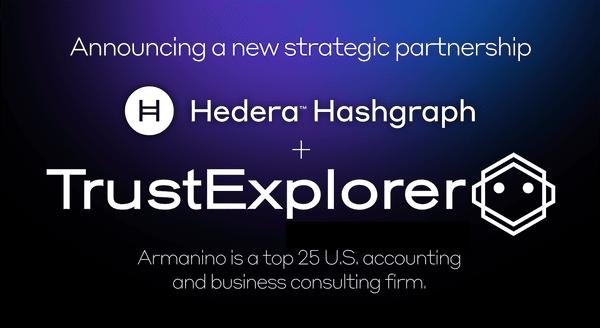 Hedera Hashgraph To Leverage Armanino Trust Explorer In New Strategic Partnership