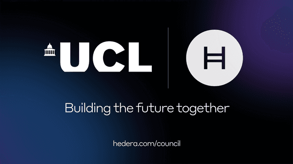 Leading Research Institution University College London Joins Hedera Governing Council As First Higher Education Member