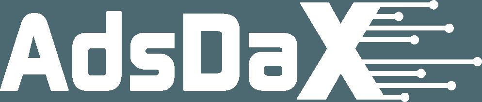Adsdax Logo White