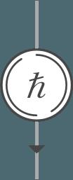 Arrow With Hbar