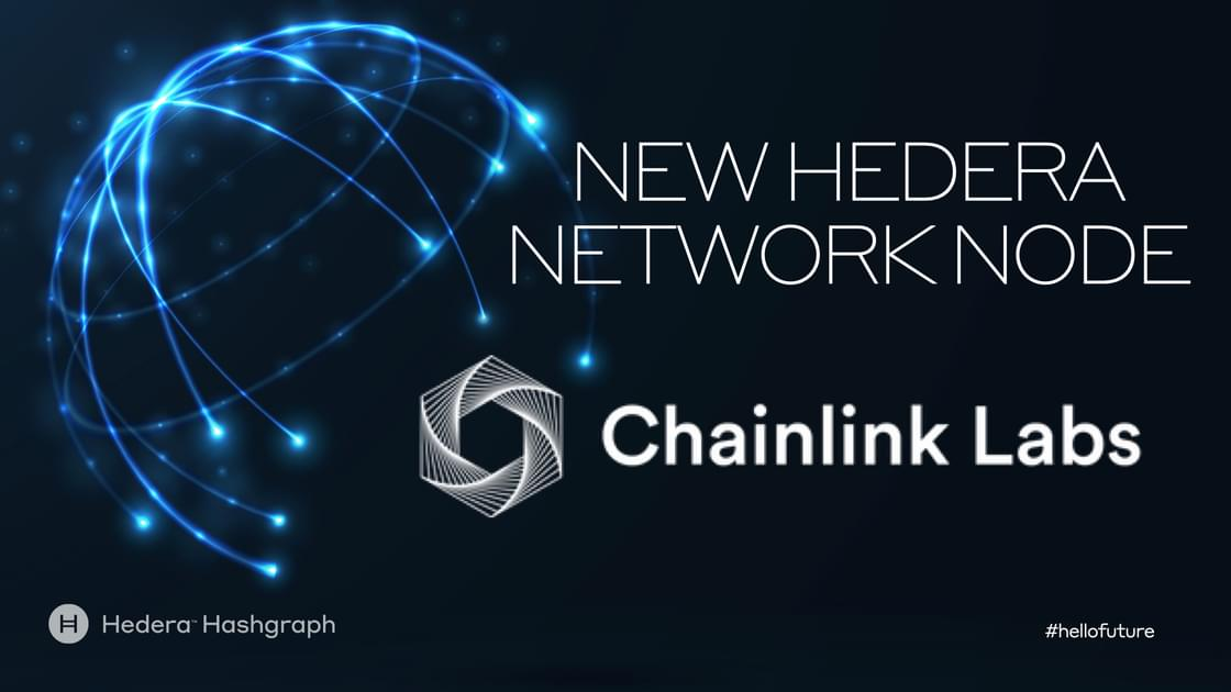 New Hedera mainnet node: Chainlink Labs
